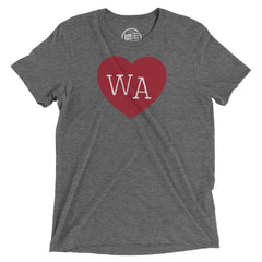 Washington Heart T-Shirt - Citizen Threads Apparel Co. - 1