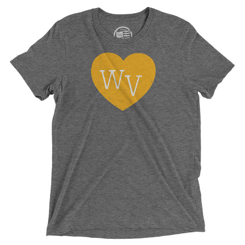 West Virginia Heart T-Shirt - Citizen Threads Apparel Co. - 1