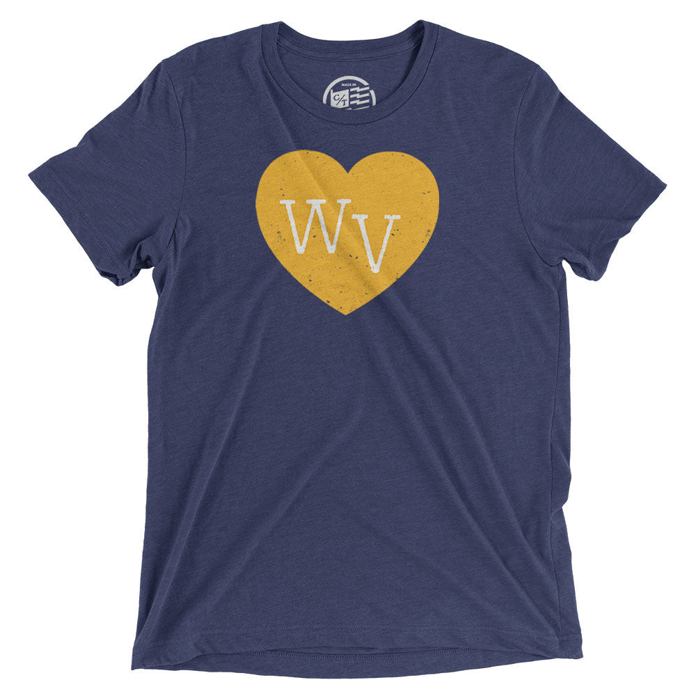 West Virginia Heart T-Shirt - Citizen Threads Apparel Co. - 2