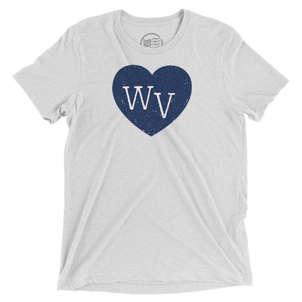 West Virginia Heart T-Shirt - Citizen Threads Apparel Co. - 3
