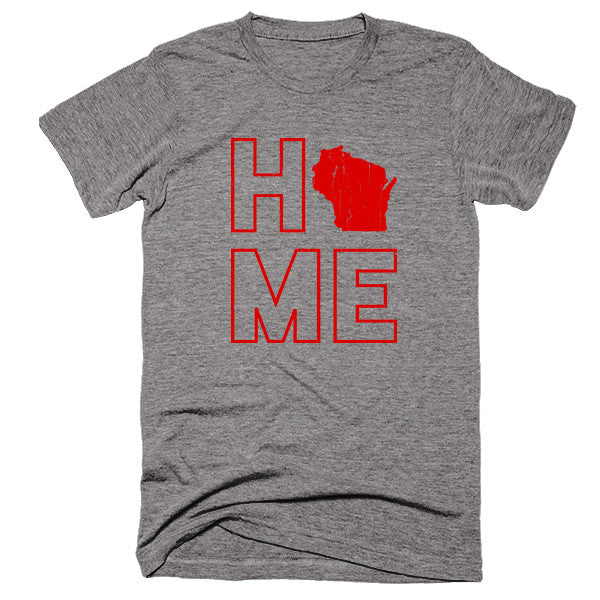 Wisconsin Home T-Shirt - Citizen Threads Apparel Co.