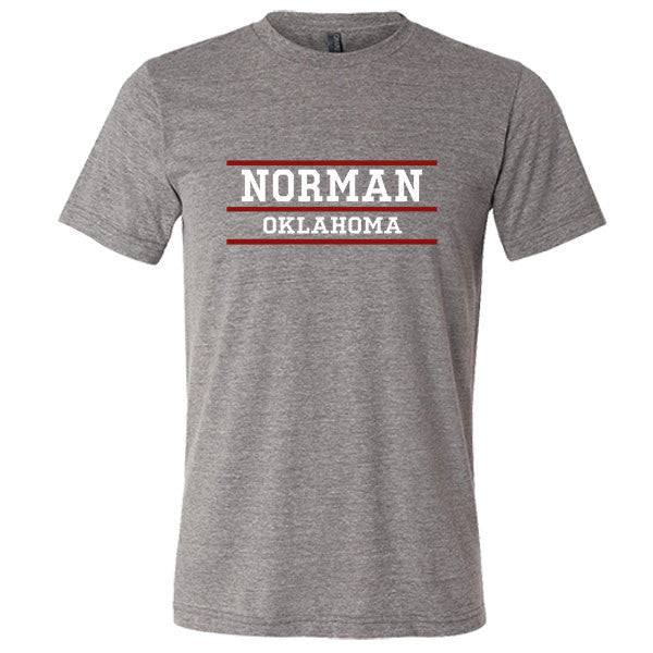 Norman Oklahoma Tri-blend T-shirt - Citizen Threads Apparel Co.