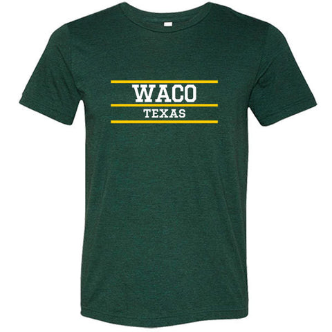 Waco Texas Tri-blend T-shirt - Citizen Threads Apparel Co. - 1