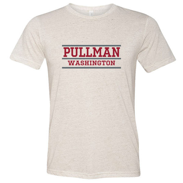 Pullman Washington Tri-blend T-shirt - Citizen Threads Apparel Co. - 1