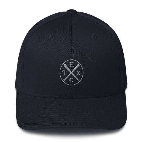 Texas Baseball Structured Twill Cap