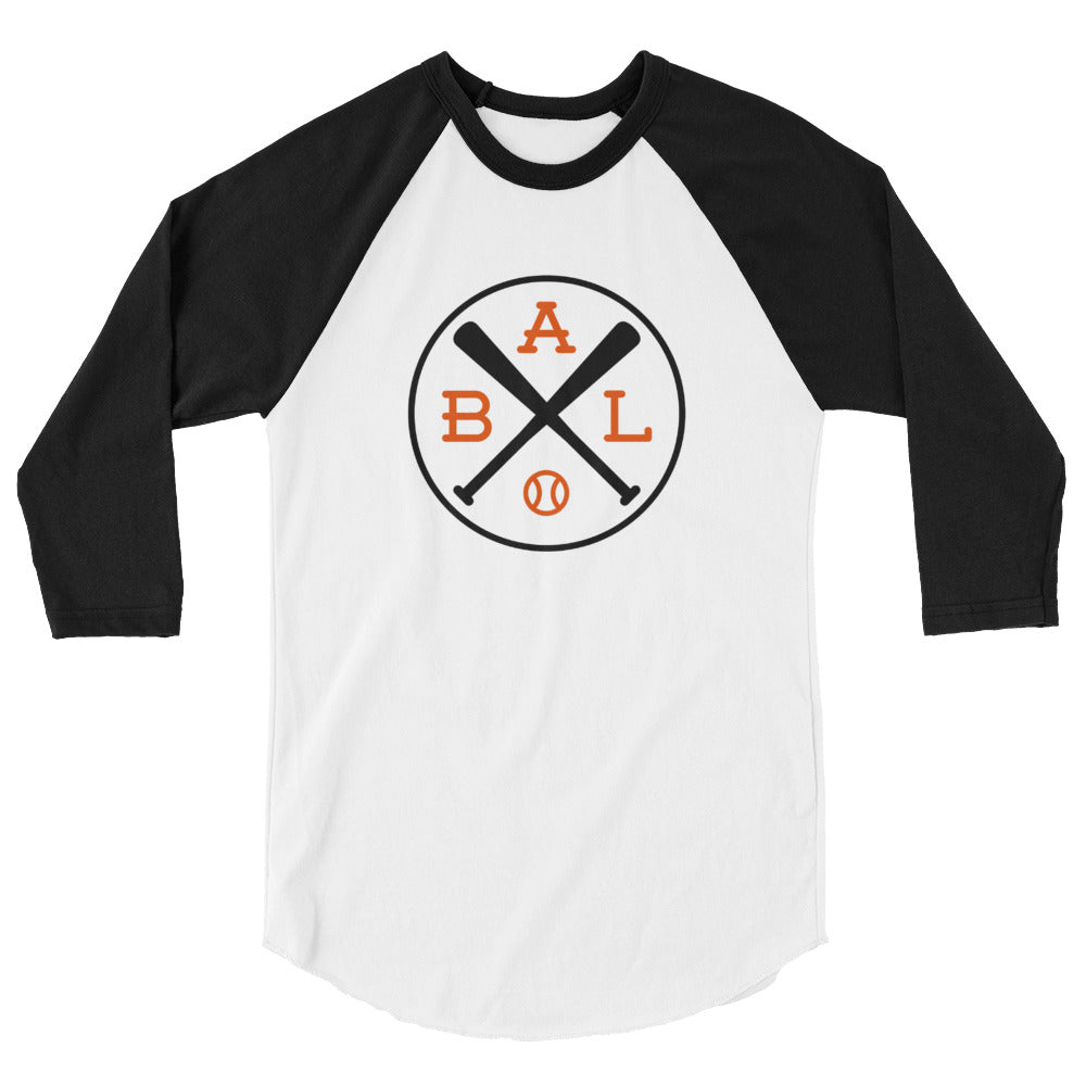 Baltimore Baseball 3/4 Sleeve Raglan