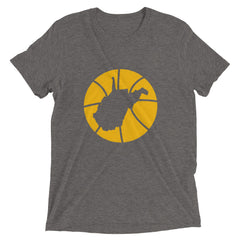West Virginia Basketball State T-Shirt