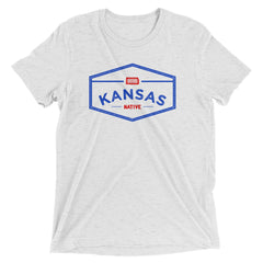 Kansas State Native Vintage Short Sleeve T-Shirt