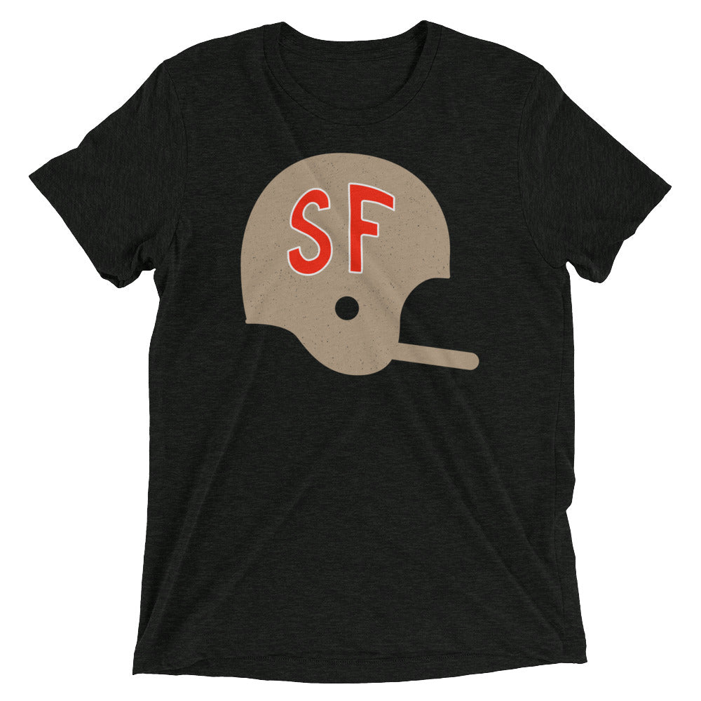 SF Football Helmet T-Shirt