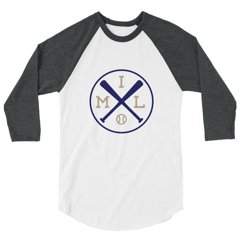 Milwaukee Baseball 3/4 Sleeve Raglan