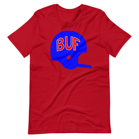 BUF Football Helmet T-Shirt