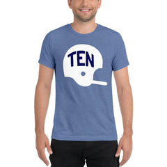 TEN Football Helmet T-Shirt