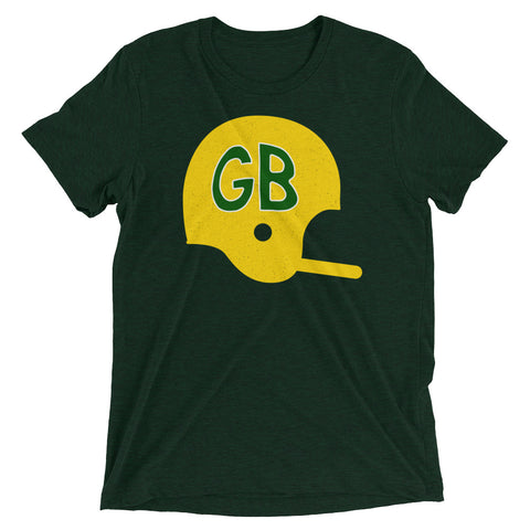 GB Football Helmet T-Shirt
