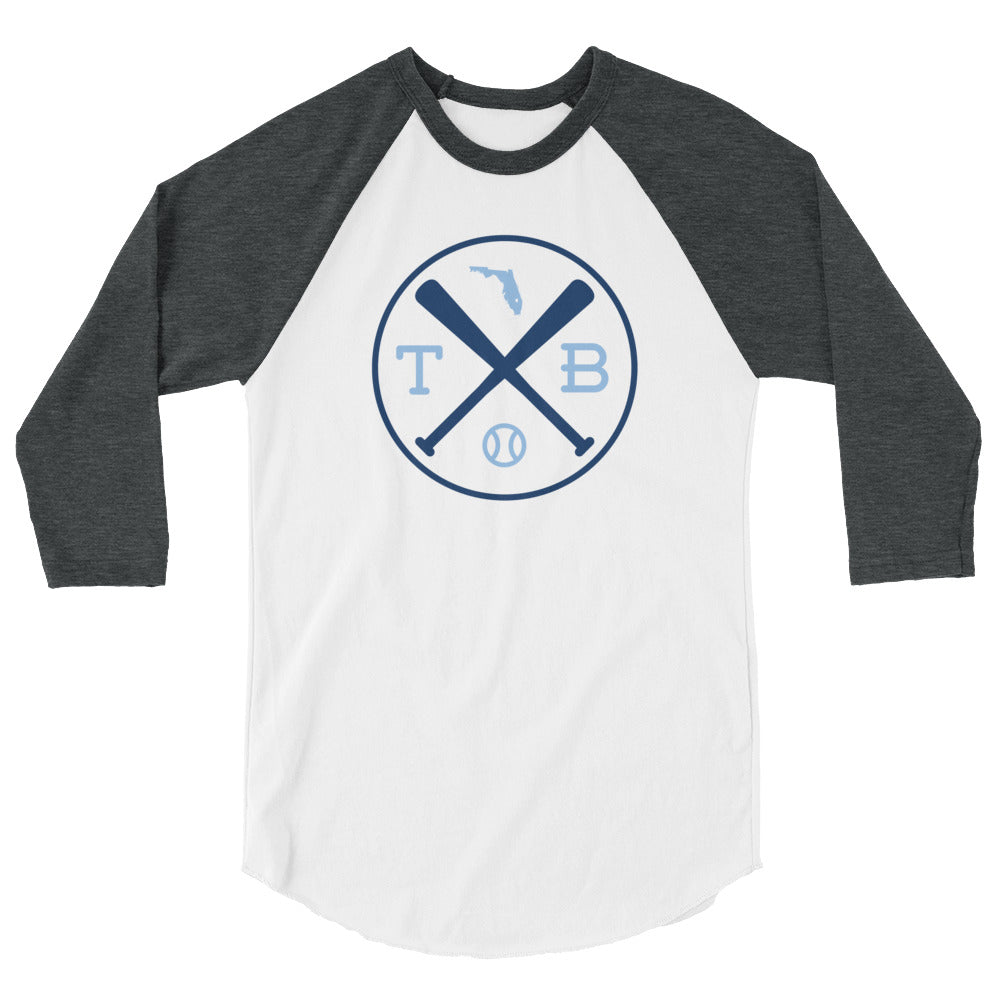 Tampa Bay Baseball 3/4 Sleeve Raglan