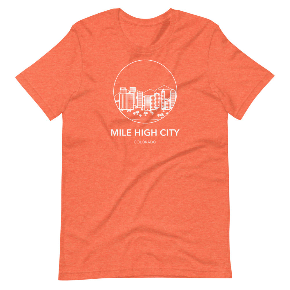 Mile High City Short-Sleeve Unisex T-Shirt