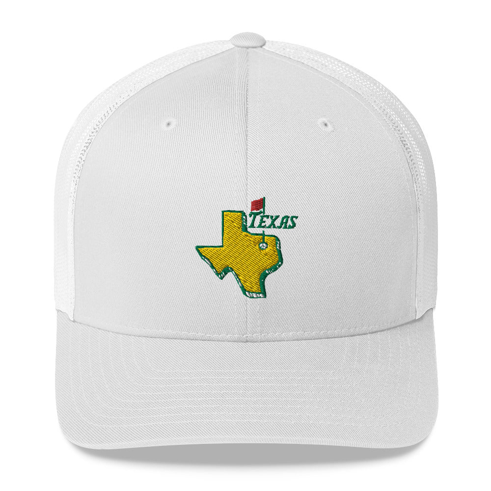 Texas Golf Trucker Cap