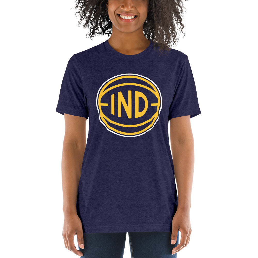 Indiana IND Basketball City T-Shirt