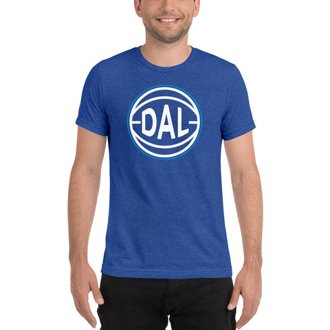 Dallas DAL Basketball City T-Shirt