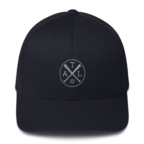 Atlanta Baseball Structured Twill Cap