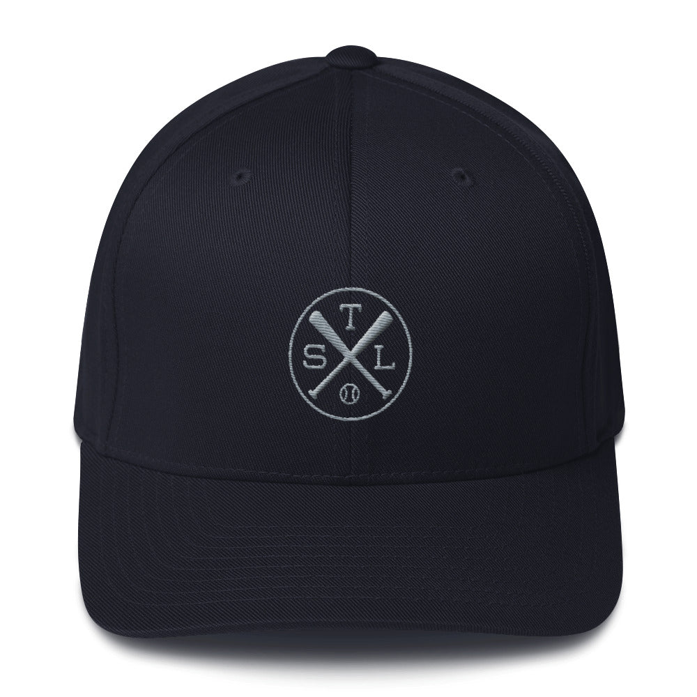 St. Louis Baseball Structured Twill Cap