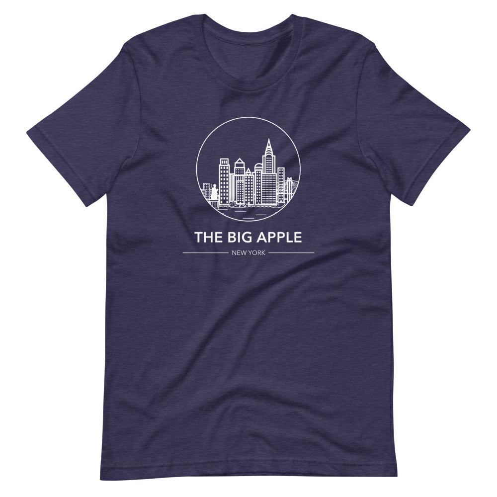 New York City T-Shirt - The Big Apple - New York City Tee