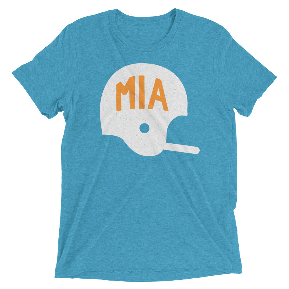 MIA Football Helmet T-Shirt