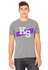 Kansas State 1861 Stripe T-Shirt