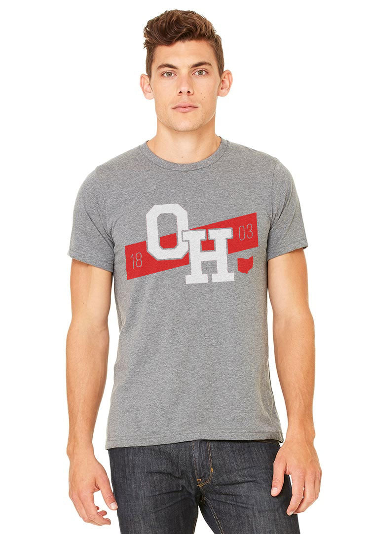 Ohio 1803 Stripe T-Shirt