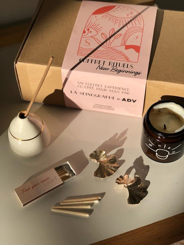 Coffret New Beginnings - Rituels Sérénité