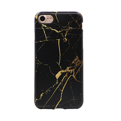 Black and gold - Marble case