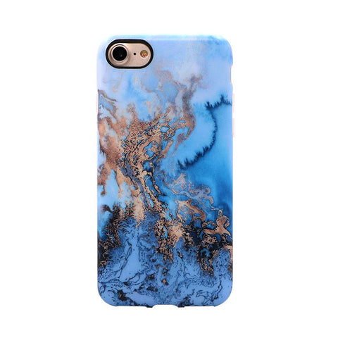 Blue - Marble case