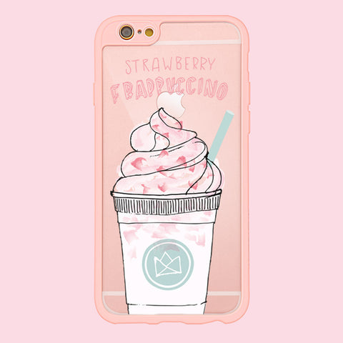 Strawberry Frappuccino - Premium