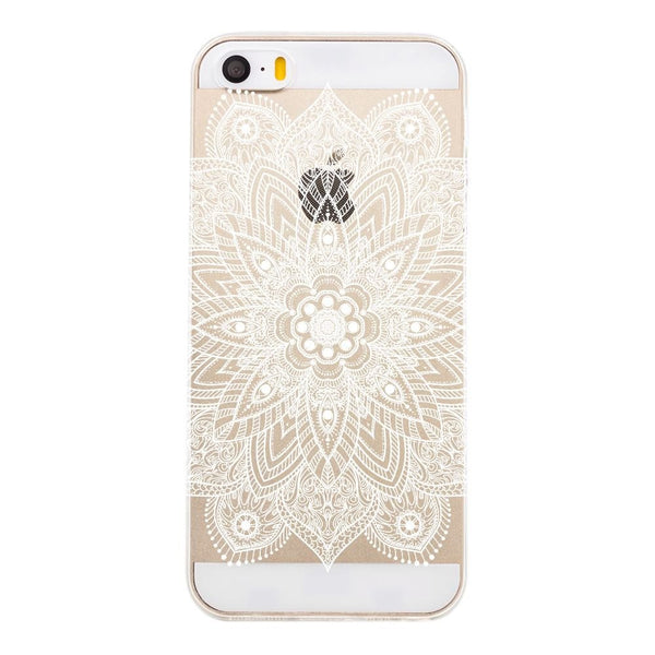 Cuty Case - White Mandala - Softcase