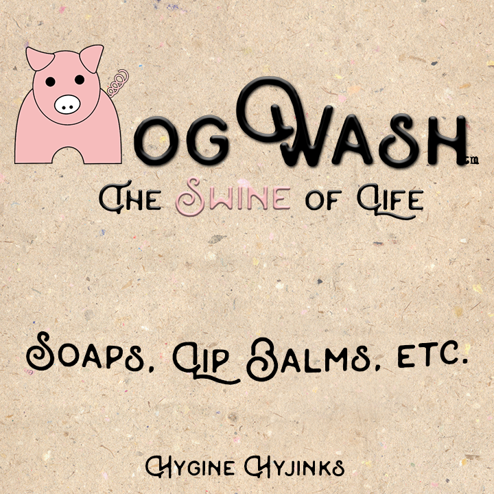 Hogwash collection of bacon inspired soaps, lip balm, and more