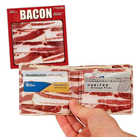 Bacon Wallet (Example) - Really Stupid Gifts