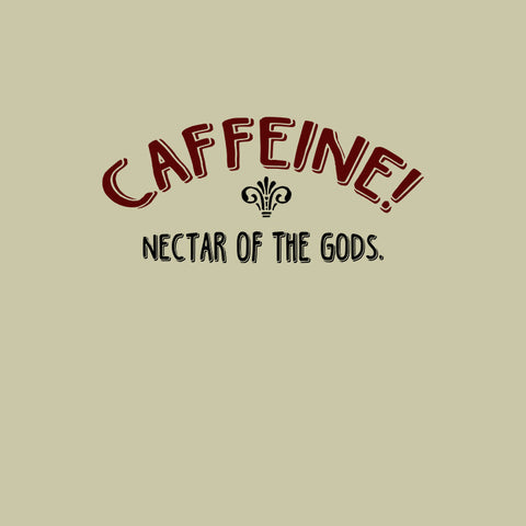 Caffeine Nectar of the Gods (Cactus T-Shirt on Man) - Really Stupid Gifts