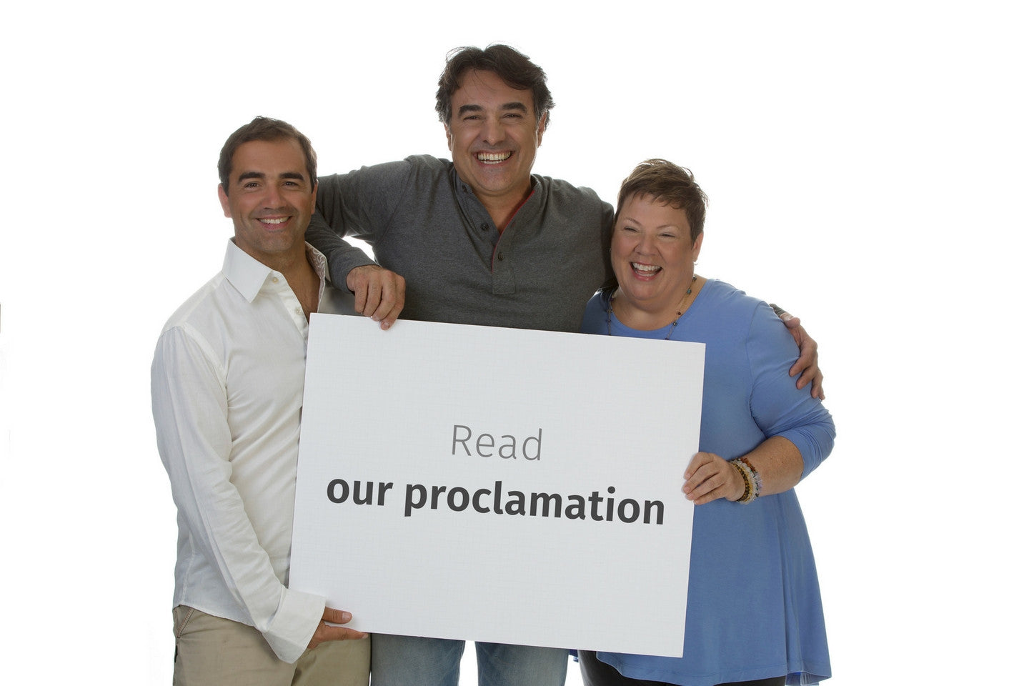 The Fabric of Humanity proclamation