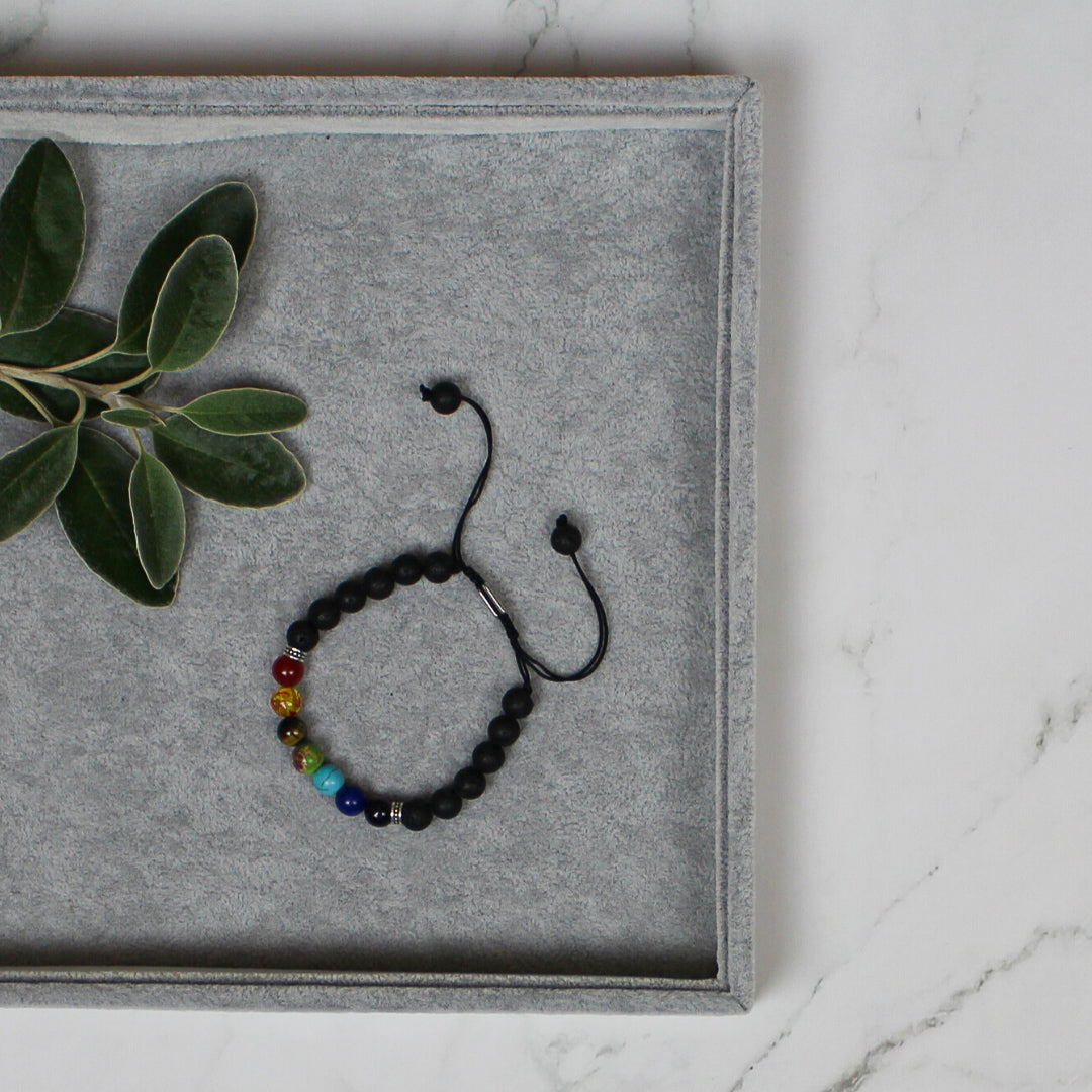 Columba Adjustable Chakra Bracelet
