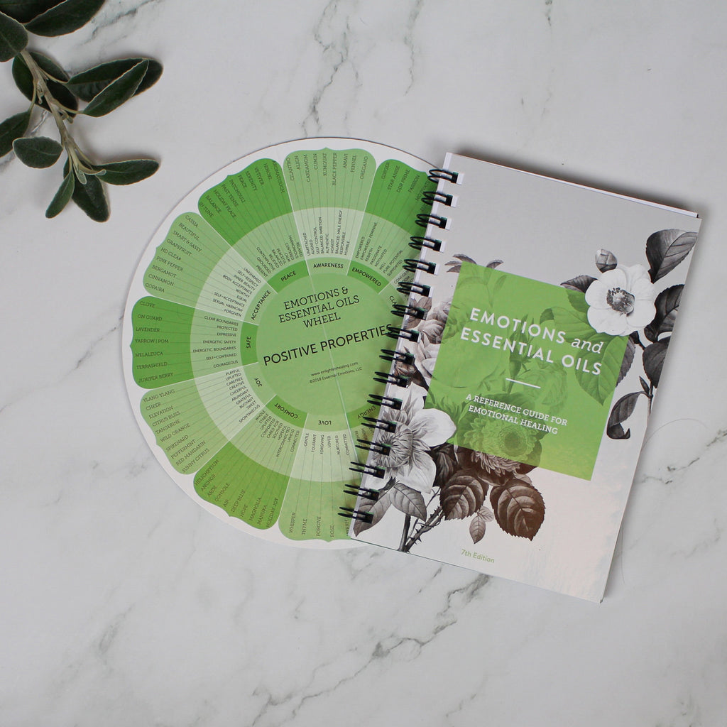 Emotions & Essential Oils, 7th Edition: Book & Wheel Combo