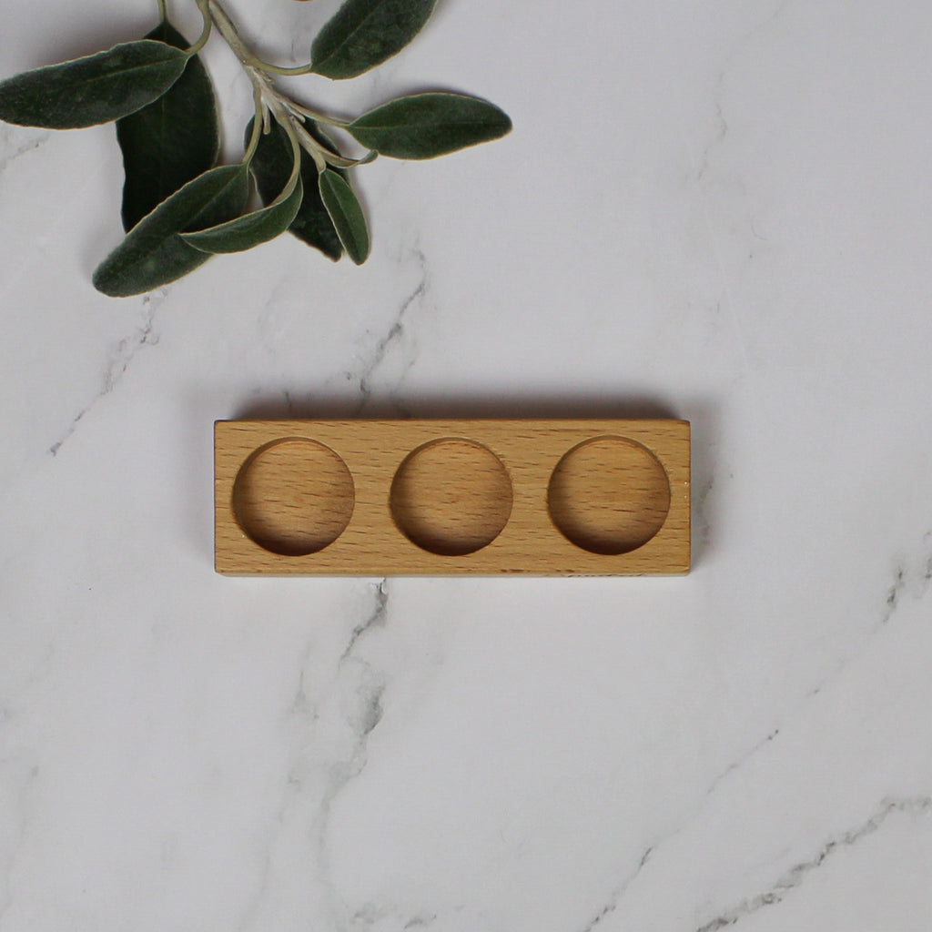 Wholesale Spoiled Wooden Block (3 hole) (Case 25)