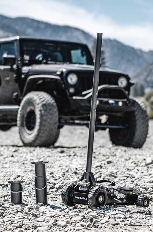 "Off Road Jack Extension 8"" OR 15"""