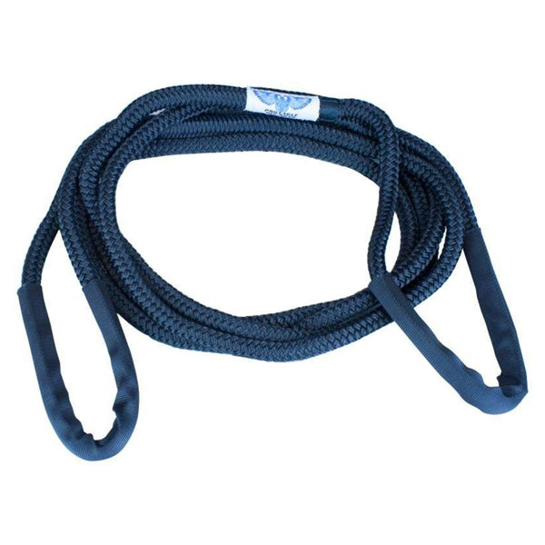 "Tow Rope Black 1/2""x 12'"