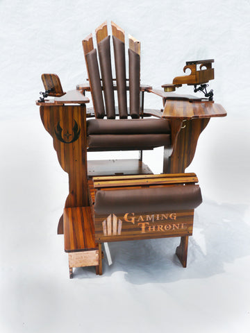Gaming Throne - Wood