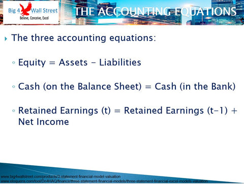 Accounting Equations