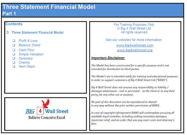 Financial Model & Valuation