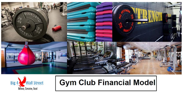 Gym / Fitness Club Financial Model
