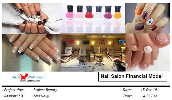 Nail Salon Financial Model
