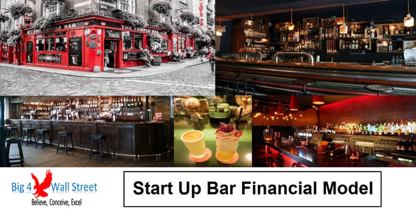 Start Up Bar Financial Model