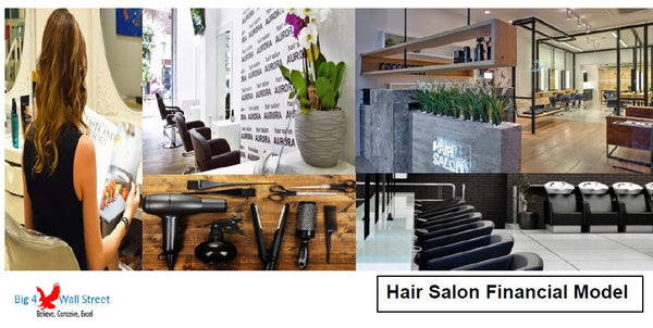 Hair Salon Financial Model