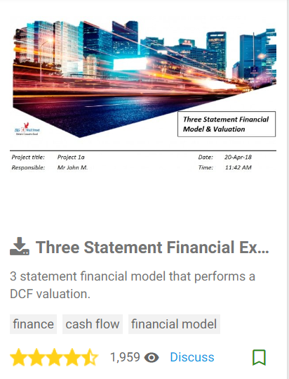 Financial Modeling Services / Business Plans (per Hour)